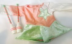American Girl Rhythmic Gymnastic Dress Leotard Outfit With Accessories-McKenna  | eBay
