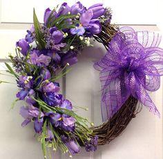 Plenty of Purple for Spring...Grapevine by SeasonsAtRosehill, $42.95
