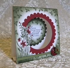 Just Believe Tent Card by lpratt - Cards and Paper Crafts at Splitcoaststampers. great tuts here Fancy Fold Cards, Folded Cards, Making Greeting Cards, Greeting Cards Handmade, Shaped Cards, Tent Cards, Beautiful Handmade Cards, Handmade Birthday Cards, Creative Cards