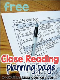 Taking the Rocket Science out of Close Reading - The Classroom Key