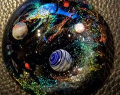 memorial keepsake cremation galaxy space handmade GLASS urn paperweight with opal comet handmade for you by Joe CRISANTI Opals For Sale, Cristal Art, Pet Ashes, Memorial Jewelry, Glass Marbles, Glass Ball, Paper Weights, Glass Jewelry, Jewellery