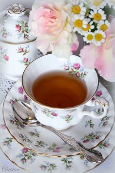 ~~~ Missing having tea with you Mom, quiet times of happiness. I just have the memories but I'd rather have you here my darling Mother. xox ~~~