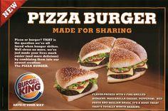 Pizza Burger!