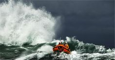 The St Ives D class Colin Bramley Parker works in tricky conditions inshore off Carn Everis at the eastern end of Porthmeor beach. Fine Art Prints, Canvas Prints, Framed Prints, Rough Seas, Republic Of Ireland, Search And Rescue, St Ives, Photography Workshops, Poster Size Prints
