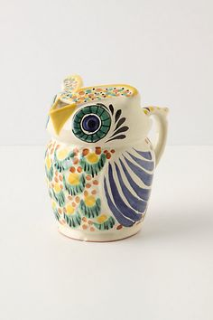Mr. & Mrs. Owl Creamer, $38.00. This would look nice on my kitchen