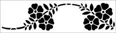 Brandling Park stencil from The Stencil Library GENERAL range. Buy stencils online. Stencil code 60.