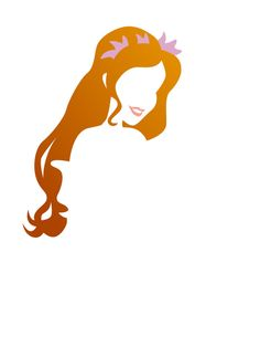 Giselle (Silhouettes / Hair by DashingDesign Deco Disney, Disney Fan Art, Disney Pixar, Disney Characters, Disney Princesses, Walt Disney, Giselle Enchanted, Disney Enchanted, Disney Images