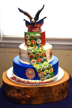 Eagle Scout Ceremony, Cake, Desserts, Food, Tailgate Desserts, Deserts, Kuchen, Essen, Postres