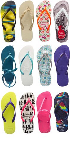 Havaianas <3 Used to have numerous pairs back in Brazil, but they are so expensive anywhere else (here!!) I have to be satisfied with a couple. Comfy and pretty :3