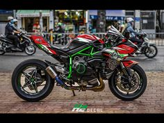 Kawasaki Ninja H2 Kawasaki Motorcycles, Cars And Motorcycles, Biker Love, Custom Sport Bikes, Cafe Racer, Kawasaki Ninja, Super Bikes, Motorcycle Bike, Concept Cars