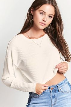Ribbed Knit Crop Top | Forever 21