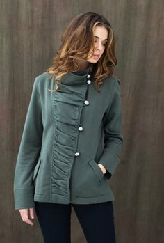Indigenous Designs - Military Jacket | Fair Trade Clothing | Eco Fashion | Organic Clothing | Military Jacket