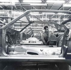 Shells On The  Assembly Line ,1964 Mustangs ,Coming to Life..