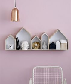 pale pink wall #decor #colors