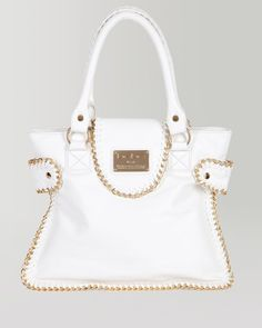 7. a handbag to tote your essentials {bebe Chain Trim Tote} #bebe #wishesanddreams