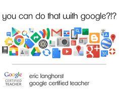 Google Tools for Teachers - pd