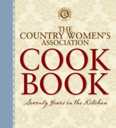Country Women S Ociation Cookbook