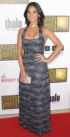 Olivia Munn attends the Broadcast Television Journalists Association Second Annual Critics' Choice Awards at The Beverly Hilton Hotel on June 18, 2012 in Beverly Hills, California.