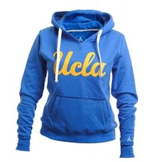 8ba991f72 UCLA Store - UCLA Women's Script Applique Hoodie - Blue Ucla College, Ucla  Campus,