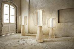 MOOLIN - zeitlose Stehlampe traditionell aus Bambus gefertigt