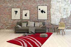 Teppich Fußboden Design Cuba 512 Rot 160cmx230cm A102176