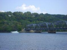 Stillwater lift bridge going over St. Croix River (MN/WI border)