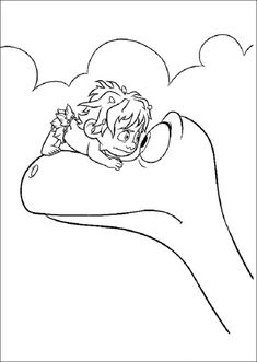 The Good Dinosaur Coloring Pages 12 Make your world more colorful with free printable coloring pages from italks. Our free coloring pages for adults and kids. Online Coloring Pages, Cartoon Coloring Pages, Disney Coloring Pages, Colouring Pages, Coloring Pages For Kids, Coloring Books, Free Coloring, The Good Dinosaur, Dinosaur Coloring Sheets