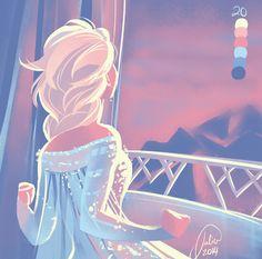 Elsa in palette #20