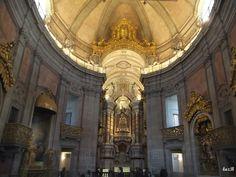 Interior da Igreja dos Clérigos
