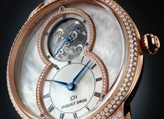 Jaquet Droz previews an exceptional timepiece at Baselworld 2017 designed with a tourbillon that embodies a past-perfect fusion of its supreme mastery in mechanics and adornments.    Grande Seconde is the heart of the Jaquet Droz legend. A model harking back to the Enlightenment, this bold design was a permanent departure from watches that simply told time. Pierre Jaquet-Droz was the impetus behind time becoming a series of artistic moments of mu