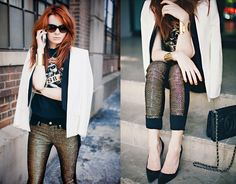 Don't you just love all the fall looks! #7FAMSTYLE See what is new 7 For All Mankind x Malhia Kent collection!