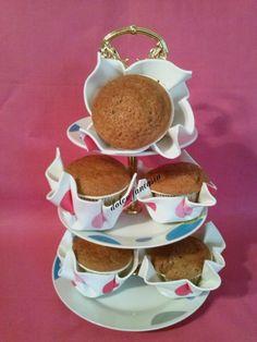 Muffin al budino di cioccolato