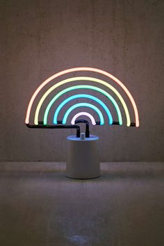 Shop Sunnylife Rainbow Neon Sign Table Lamp at Urban Outfitters today. Neon Rainbow, Rainbow Light, Rainbow Things, Sunnylife, Rainbow Aesthetic, Cool House Designs, Neon Lighting, Lighting Ideas, Aesthetic Wallpapers
