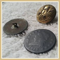 Today I have decided to show an assortment of things found while out using a Metal Detector here in Northeast Ohio. Large Cent Pennies Flat Buttons and ofcourse Military Buttons are always thrill. Always stay persistent and never give up on your quest. #treasure #buttons #military #fashion #metaldetecting #metaldetector #outdoors #treasurefacts curated by http://www.detecting.us