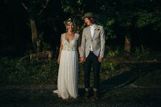 summer farm wedding couple style