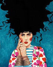 Por amor al arte: Hülya Özdemir Art And Illustration, Illustrations, Art Pop, Expo, Klimt, Portrait Art, Face Art, Art Pictures, Collage Art