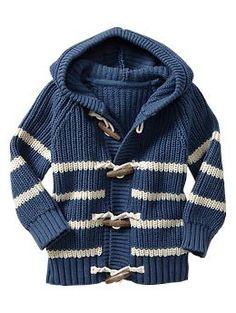 Must! Striped toggle sweater | Gap