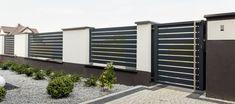 House Fence Design, Modern Fence Design, Balcony Railing Design, Door Design, Garden Design, Backyard Fences, Villa Design, House Wall, House Front