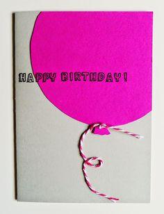 Nastami - Jeder bastelt mit!: Geburtstagskarten basteln