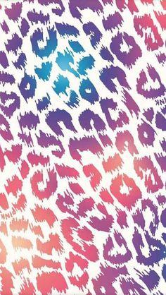 Cute & colorful chettah background