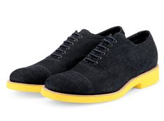 Sergio Rossi denim oxford shoes