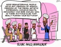 Funny Muslim anger management class