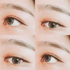 eye, makeup, and korean makeup Bild