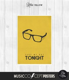 The Smiths - Take me out tonight - Morrissey - Music Concept POSTER - Lyrics Poster - Retro Pick a size and color