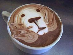 Some clever people out there making coffee pretty...