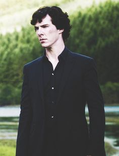 Sherlock Holmes... those chiseled features