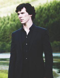 Sherlock Holmes... those chiseled features