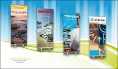 Roll-up Banners, 80x200 mm.
