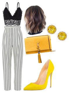 """""""Untitled #382"""" by melissaschrder ❤ liked on Polyvore featuring TIBI, Oysho and Yves Saint Laurent"""