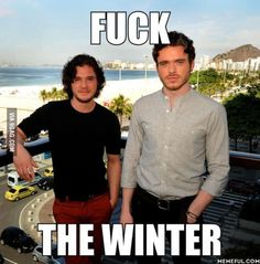 Robb and Snow :D